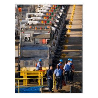 Gatun Locks 4 Postcard