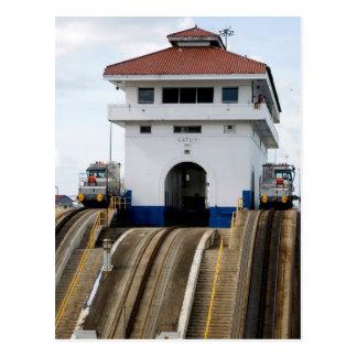 Gatun Locks 5 Postcard