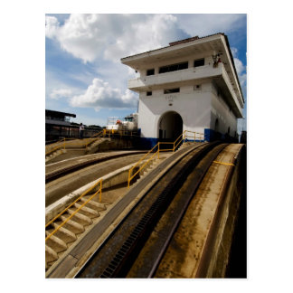 Gatun Locks 6 Postcard