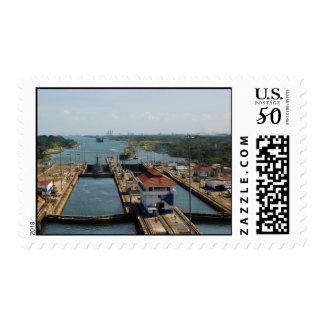 Gatun Locks 7 Postage
