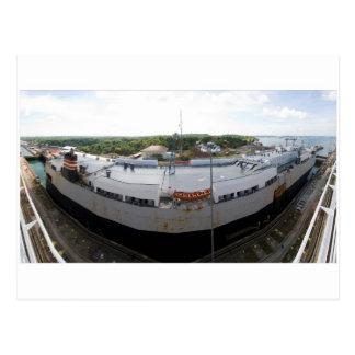 Gatun Locks 9 Postcard