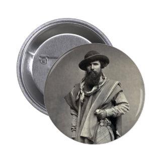 Gaucho de la República Argentina 1868 Pin