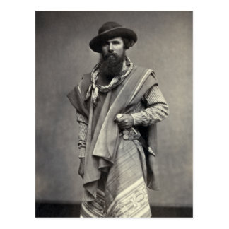 Gaucho of the Argentine Republic 1868 Post Cards