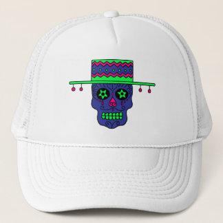 Gaucho Sugar Skull Trucker Hat
