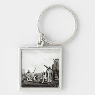 Gauchos  of Tucuman, 1820 Key Chain