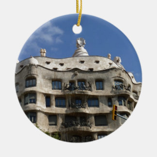 gaudi 2 ceramic ornament