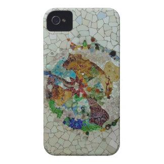 Gaudi flower iPhone 4 cover