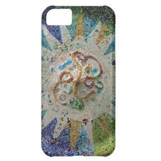 Gaudi flower iPhone 5C cases