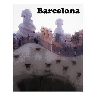 "Gaudi La Pedrera ""Stone Quarry"" Barcelona Photo Print"