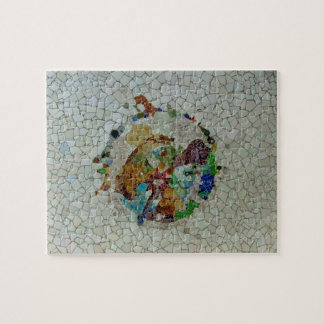 Gaudi Mosaic Flower Puzzle