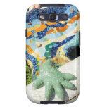 Gaudi Mosaic Hand Galaxy S3 Cover
