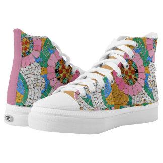 Gaudi Mosaic High-Top Sneakers