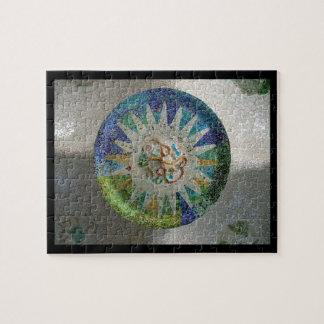 Gaudi Mosaic Jigsaw Puzzle