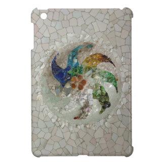 Gaudi Mosaic Rose iPad Mini Cases