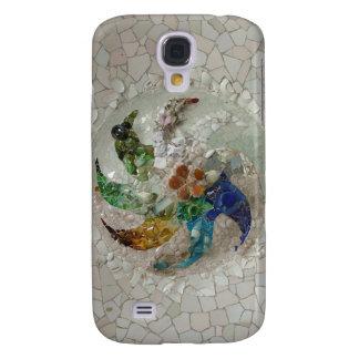 Gaudi Mosaic Rose Samsung Galaxy S4 Covers