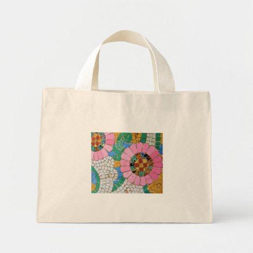 Gaudi Mosaic Tile Bag Zazzle