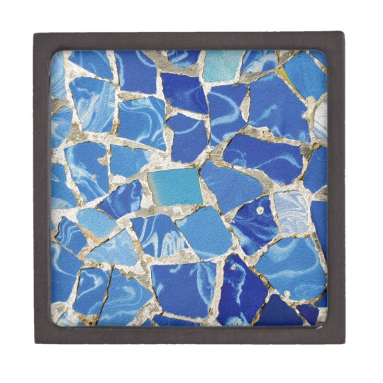 Gaudi Mosaics With an Oil Touch Gift Box