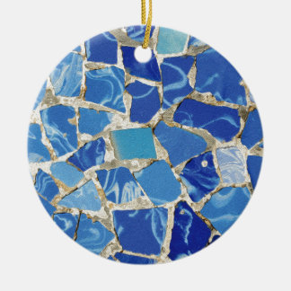 Gaudi Mosaics With an Oil Touch Ornaments