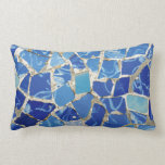 Gaudi Mosaics With an Oil Touch Pillow