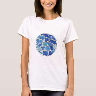 Gaudi Mosaics With an Oil Touch T-Shirt