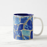Gaudi Mosaics With an Oil Touch Two-Tone Coffee Mug
