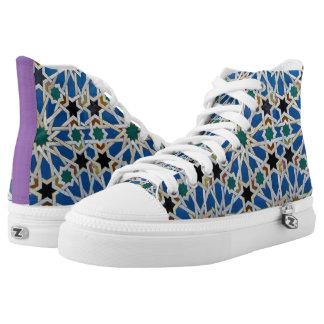 Gaudi or gaudy? High-Top sneakers