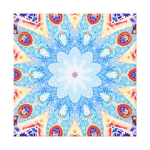 Gaudi pattern. canvas print