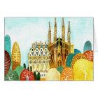 Gaudi 's Barcelona. Card