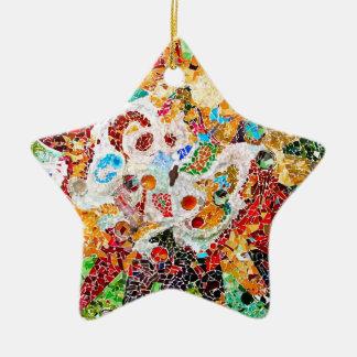 Gaudi star shaped ornament