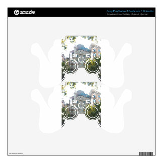 Gaudi Style house in Barcelona Decal For PS3 Controller