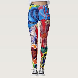 Gaudi watercolour. leggings