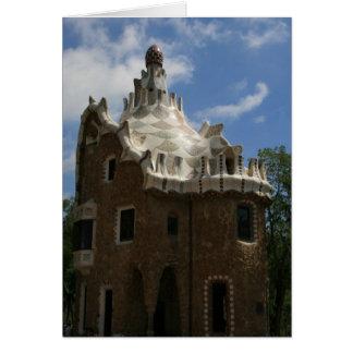 Gaudi's House Card
