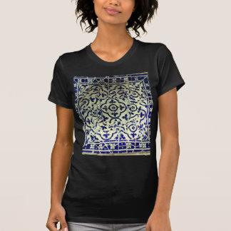Gaudi's Park Guell Mosaic Tiles Barcelona T-Shirt