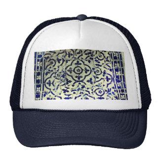 Gaudi's Park Guell Mosaic Tiles Barcelona Trucker Hat