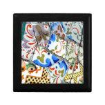 Gaudi's Park Guell Mosaic Tiles Gift Box
