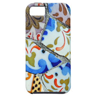 Gaudi's Park Guell Mosaic Tiles iPhone 5 Cover