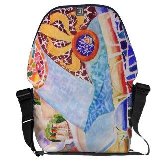 Gaudi's Park. Messenger Bag