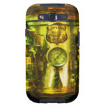 Gauge and Two Brass Lanterns on Fire Truck Galaxy S3 Covers