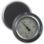 Gauge fridge magnet