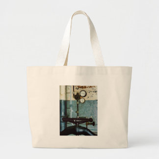 Gauges in machine Shop Large Tote Bag