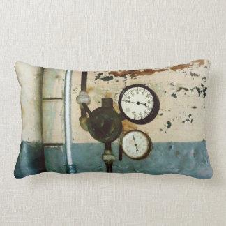 Gauges in Machine Shop Throw Pillows