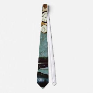 Gauges in machine Shop Tie