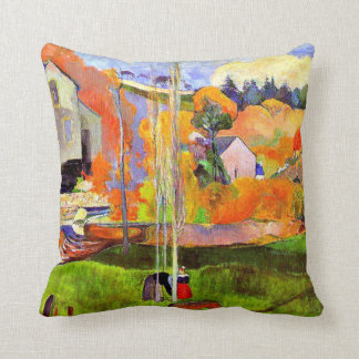 Gauguin - A Breton Landscape-David's Mill-1894 Throw Pillow