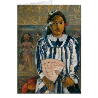 Gauguin Ancestors of Tehamana Card