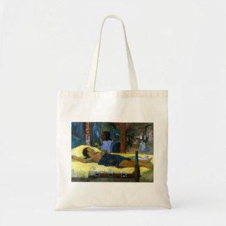 Gauguin art painting Tamari No Atua (Nativity) Budget Tote Bag