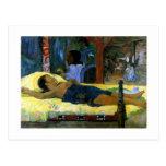 Gauguin art painting Tamari No Atua (Nativity) Postcards