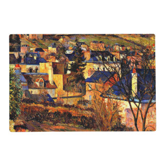 Gauguin - Blue Roofs of Rouen Placemat