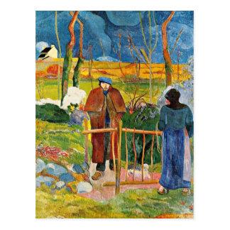 Gauguin - Bonjour, Monsieur Gauguin Postal