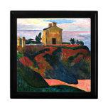 Gauguin - casa en Cacerola-Du, pintura de Paul Gau