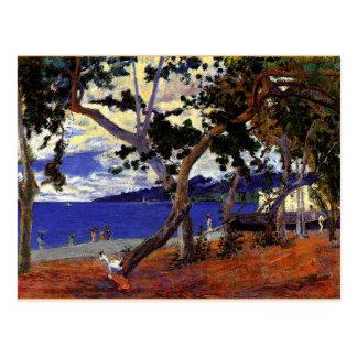 Gauguin - Coastal Landscape from Martinique Postcard